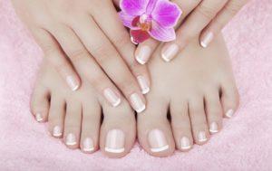 manicure pedicure polish