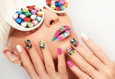 Professional Nail Art At Home Manicure Services Manicare